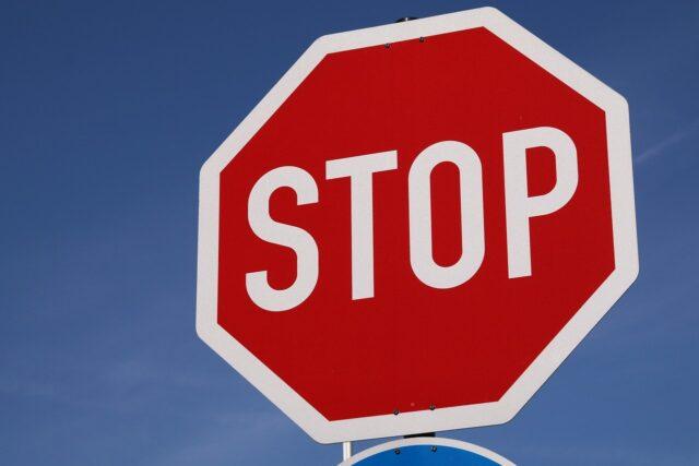 道路標識STOP