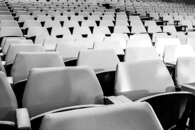 野球の観客席